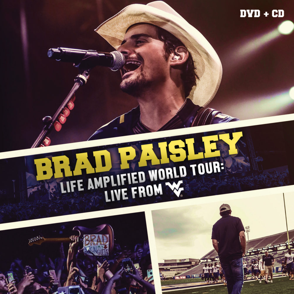 Brad Paisley Life Amplified World Tour February